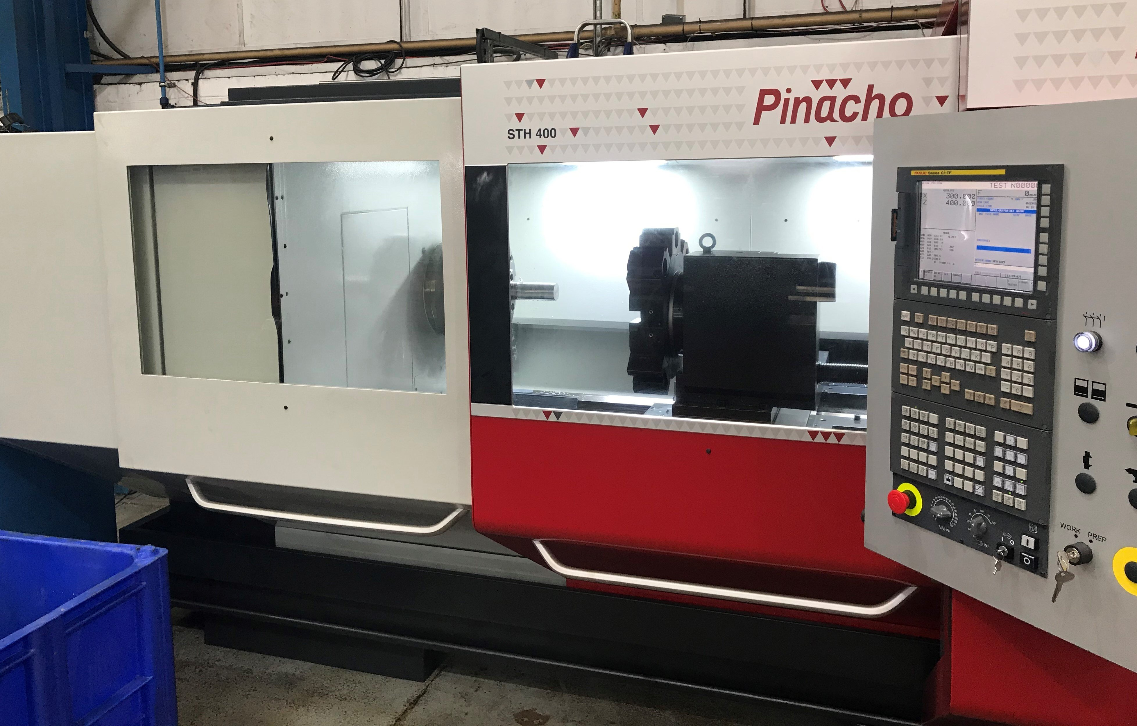 Our Pinacho STH 400 Is Now Installed & Ready For Action!
