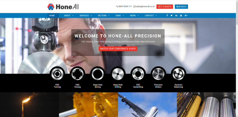 New Hone All Website Is Now Ready And Live